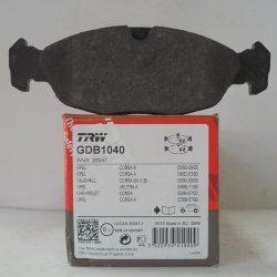 Колодки гальмівні TRW передні GDB 1040 (DAEWOO Nexia)