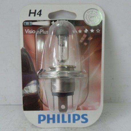 Лампа PHILIPS 12342VP SET H4 12V 60/55W P43T-38 VISIONPLUS 2шт