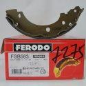 Ferodo Колодки тормозные задние FSB 583 (Renault Kangoo)