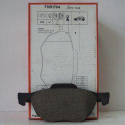 Ferodo Колодки тормозные дисковые FDB 1704 (Honda Accord VIII)