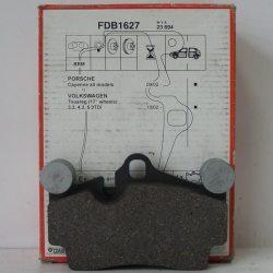 Ferodo Колодки гальмівні дискові FDB 1627 (Porsche Cayenne 03-)