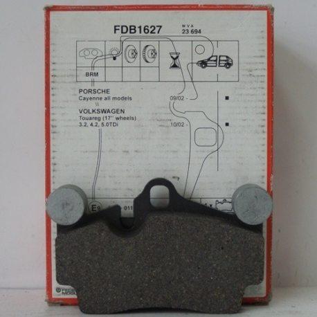 Ferodo Колодки тормозные дисковые FDB 1627 (Porsche Cayenne 03-)