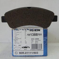 Icer Колодки тормозные дисковые IC181388-701181388 (Citroen