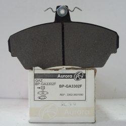 Колодки гальмівні дискові Aurora передні BP-GA3302F
