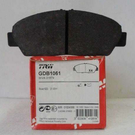 TRW Колодки тормозные передние GDB1061 (Honda)