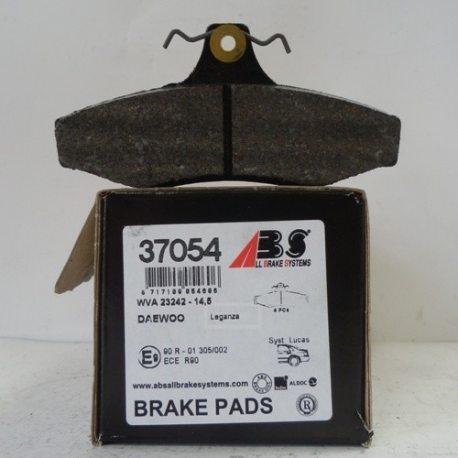 ABS Колодки тормозные задние 37054 (Daewoo Leganza)