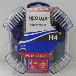 NEOLUX Автолампы HAMMER H4 12V/55/60W/N472EL, 2шт