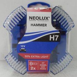 NEOLUX Автолампы HAMMER H7 12V/55W/N499EL, 2шт