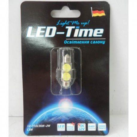 Лампа LED Освітлення салону, підсвітка номерного знака
