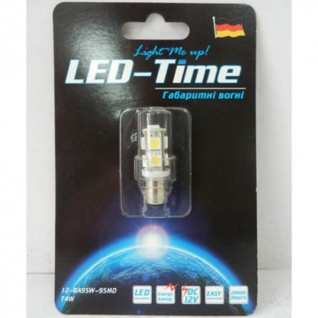 Лампа LED Стоп/габарит 1157-40SMD (червона)