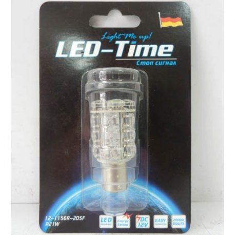 Лампа LED Стоп 1156-20SF (красн)