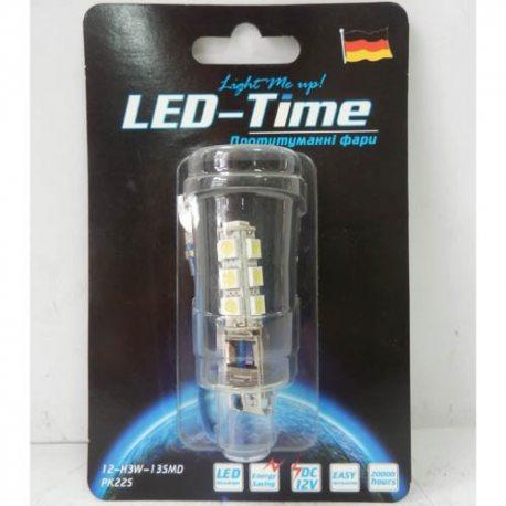 Лампа LED Протитуманні фари H3-13SMD (біла)