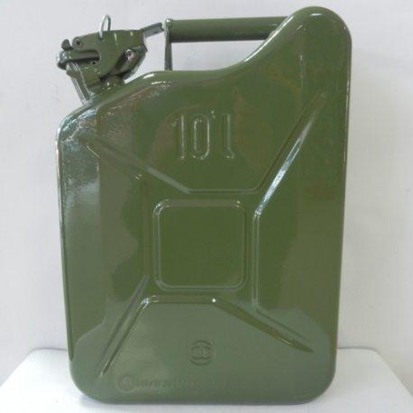 Канистра металлическая для топлива, 10л