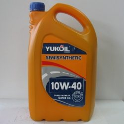 Олива моторна YUKOIL SEMISYNTHETIC 10W-40, API SJ/CF-4, 5л