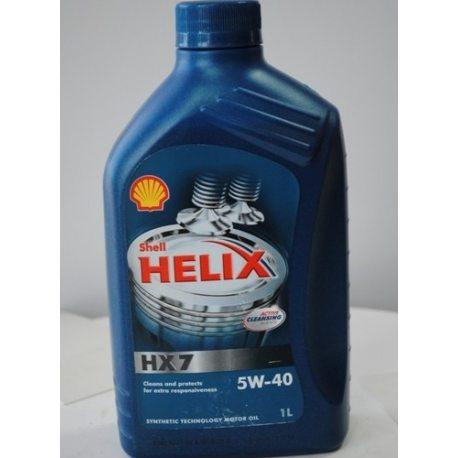Shell олива моторна синтетична Helix Plus Extra 5W-40/1л