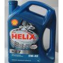Shell Масло моторное синтетическое Helix Plus Extra 5W-40/4л