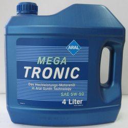 ARAL Масло моторное синтетическое Mega Tronic 5W-50/4л