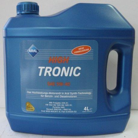 ARAL олива моторна напівсинтетична High Tronic 5W-40/4л