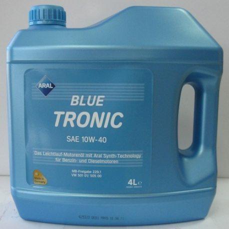 ARAL Масло моторное полусинтетическое Blue Tronic10W-40/4л