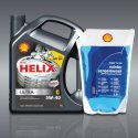 Shell Масло Helix Ultra 5W-40, 4л