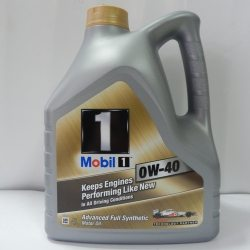 MOBIL 1 Масло моторное Syntetic ОW-40/4л