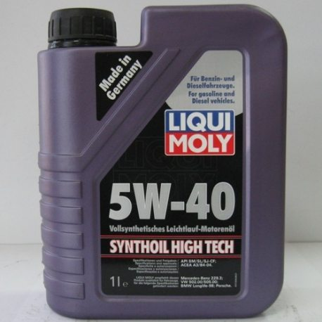 LM Масло моторное синтетическое Synthoil High Tech 5W-40/1л