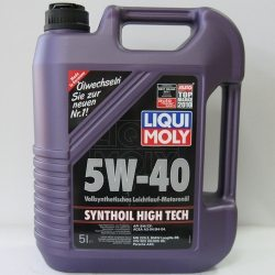 LM Масло моторное синтетическое Synthoil High Tech 5W-40/5л