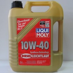 LM Масло моторное полусинтетическое Diezel Leichtlauf 10W-40