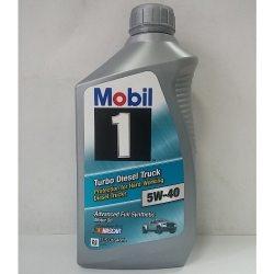 Mobil Масло моторное Turbo Diesel Truck 5W40, 0,946л