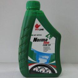 PITLINE Масло моторное минеральное 20W-50 NORMA LINE/0.85кг