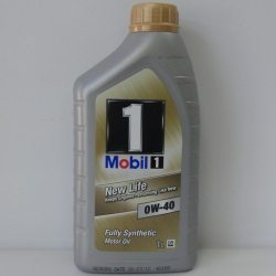 MOBIL 1 Масло моторное NEW LIFE 0W-40, 1л