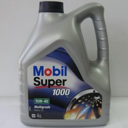 MOBIL Масло моторное SUPER 1000 X1 15W-40, 4л