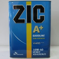 ZIC олива моторна напівсинтетична A+/X7 SAE 10W-40, API SL/CF