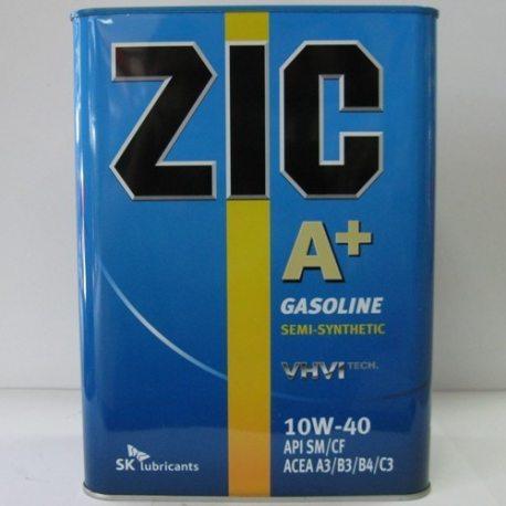 ZIC Масло моторное полусинтетическое A+/X7 SAE 10W-40, API