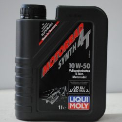 Liqui Moly Масло моторное для 4-тактных двиг. Racing Synth 4T 10W-50 HD (3982), 1л