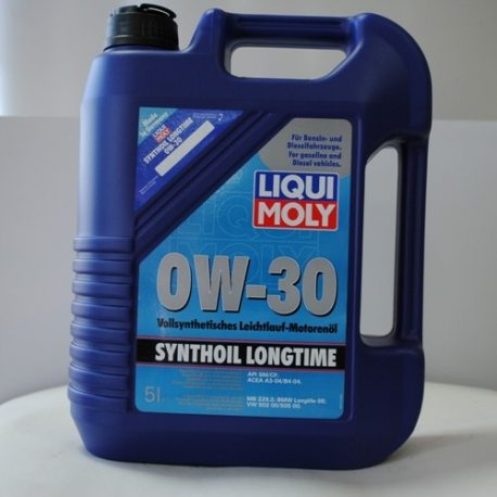 Liqui Moly Масло моторное Synthoil Longtime 0W-30 (1172), 5л