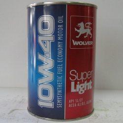 Олива моторна Wolver Super Light 10W-40, API SL/CF, 1л