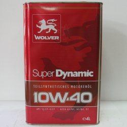 Олива моторна Wolver Super Dinamic 10W-40, API SJ/CF-4/CF, 4л
