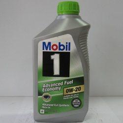 Олива моторна синтетична Mobil 1 Fuel Economy SAE 0W-20, 0,946л