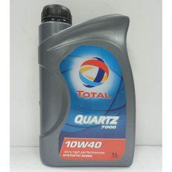 TOTAL Масло моторное полусинтетическое QUARTZ 7000 10W-40, 1л