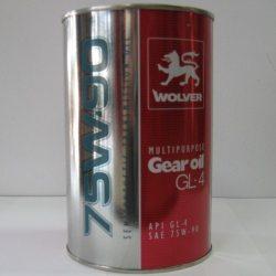 Масло трансмиссионное Wolver Multipurpose Gear Oil GL-4, 1л