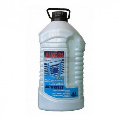 MOL антифриз Alycol Cool Ready -35 (зеленый)/4л