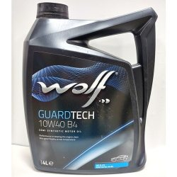 Олива моторна WOLF GUARDTECH 10W40 B4, 4л