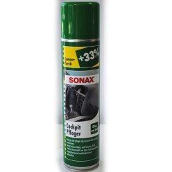SONAX 343300 Очиститель пластика глянцевый с антистатиком, 0,4л