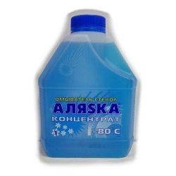 АЛЯСКА Омыватель стекла -80С концентрат, 1л