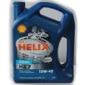 Shell Масло моторное полусинтетическое Helix Diesel Plus 10W-40/4л
