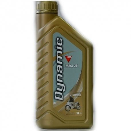 MOL Масло моторное синтетическое 2-тактна DYNAMIC MOTO, 1л