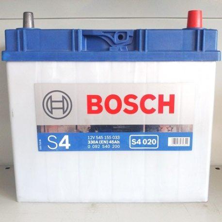 Аккумулятор Bosch 6СТ-45 Asia S4 020 (1)