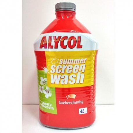 MOL омивач скла літній Alycol Citrus/Cherry Blossom, 4л