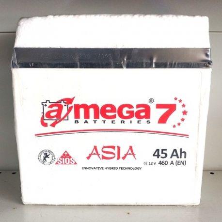 A MEGA Акумулятор ASIA 6СТ-45-Аз (0)